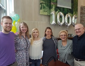 Celebrating 1,000 Patients